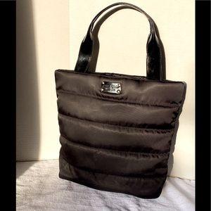Kate Spade Black Puffer Tote Bag